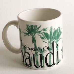 Starbucks Kingdom Saudi Arabia City Mug Cup 2002